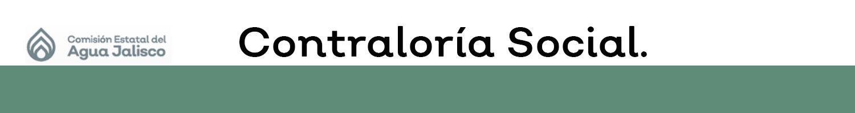 Micrositio Contraloría Social.